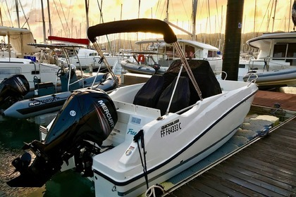 Charter Motorboat QUICKSILVER ACTIV 555 OPEN Le Marin
