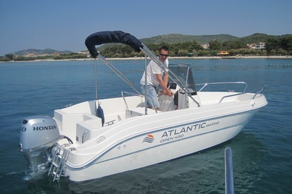 Charter Motorboat Atlantic Marine Open 490 Vodice