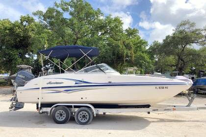 Hire Motorboat Hurricane Deck Boat SD237 St. Petersburg