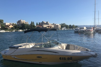 Hire Motorboat Sea Ray 185 Sport Omiš