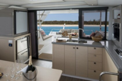Charter Catamaran Fountaine Pajot Lucia 40 with watermaker Le Marin