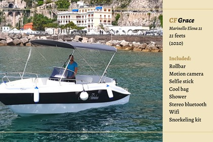 Hire Motorboat MARINELLO 650 Amalfi