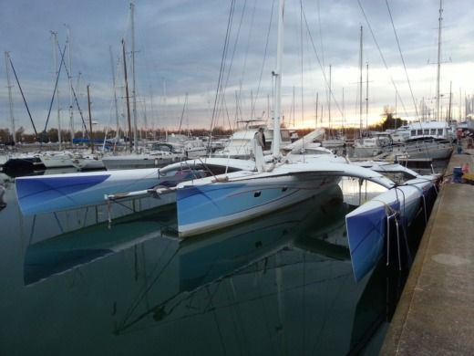 Location Catamaran Chantier Mer & Composites Trimaran Pulsar 60 Sardaigne