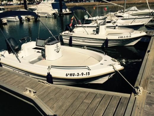 Motorboat Motorboat 4.5 M Yamaha 15 Hp peer-to-peer