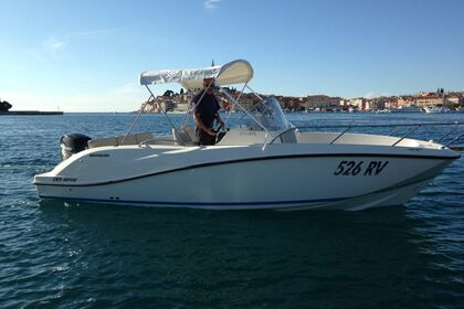 Hire Motorboat QUICKSILVER 675 OPEN Rovinj