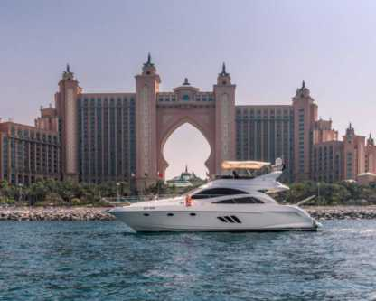 Charter Motorboat Gulf Craft Majestic Dubai