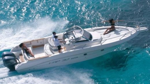 Motorboat Capelli 32 for rental