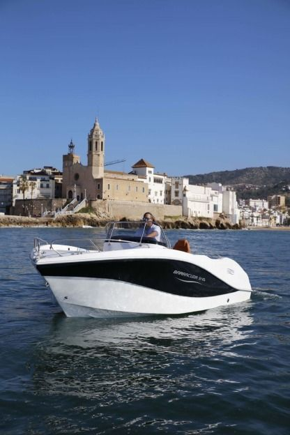 Rental Motorboat Ockiboat Barracuda 545 Sitges