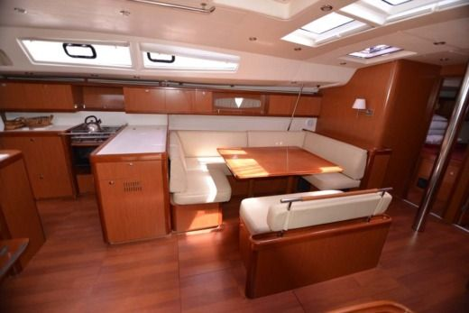 Sailboat Beneteau Oceanis 54