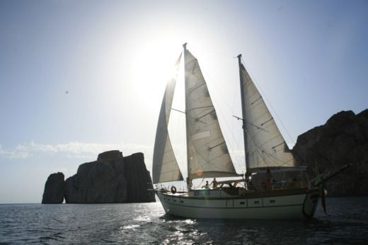 Sailboat Italnautica Motorsailer Armato A Ketch for hire