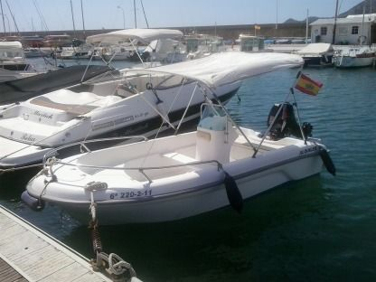 Rental Motorboat Astec Sabor  400 Altea