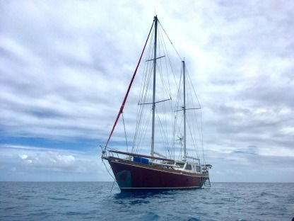 Location Voilier Argentina Wooden Ketch 65 Feet Papeete