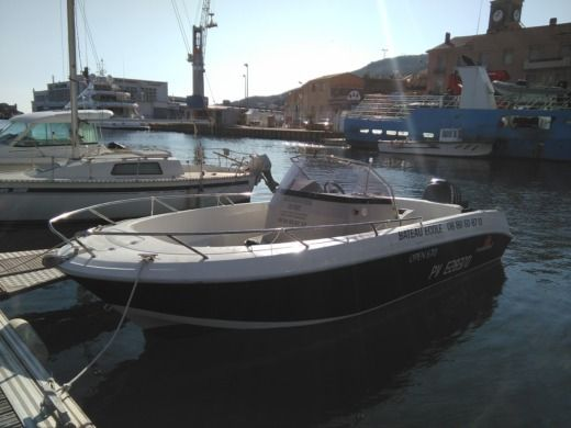 Pacific Craft Open in Port-Vendres for hire