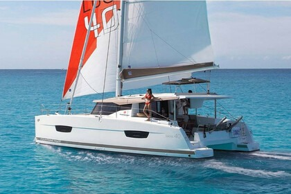 Hire Catamaran Fountain pajot Lucia 40 Tortola
