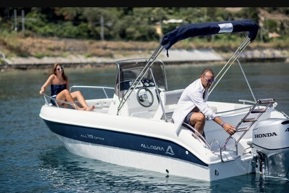Charter Motorboat Allegra All 19 open Collioure