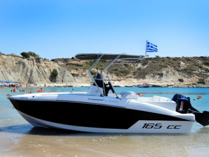 Charter Motorboat Compass 165 Cc Rhodes