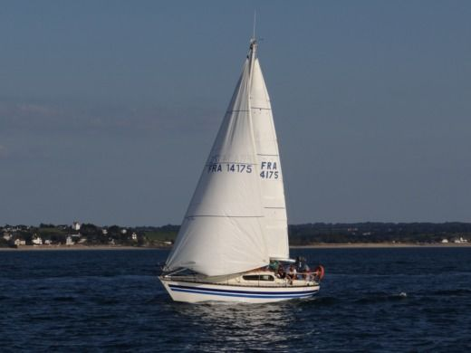 Sailboat Kelt Marine Kelt 8m peer-to-peer