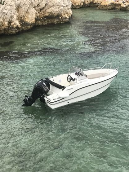 Rental Motorboat Quicksilver Activ 455 Open Marseille