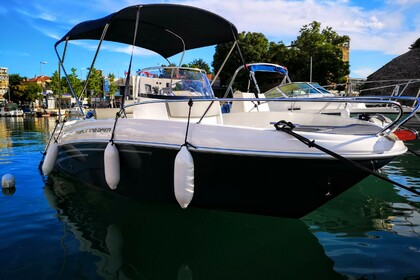 Rental Motorboat Prince 570 Open 140ks Suzuki Zadar