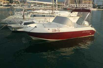 Rental Motorboat Atlantic 650 WA Okrug Gornji