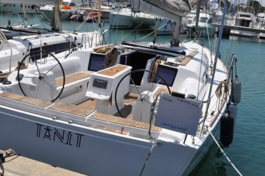 DUFOUR 412 Grand Large in Dénia, Alicante for hire