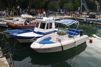 Hire Motorboat Sessa Marine Key Largo 17 Novigrad