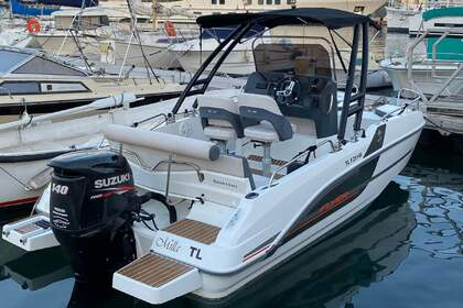 Rental Motorboat Beneteau flyer 5.5 Spacedeck La Ciotat
