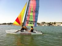 Catamarán Hobie Cat H-15 O Teddy