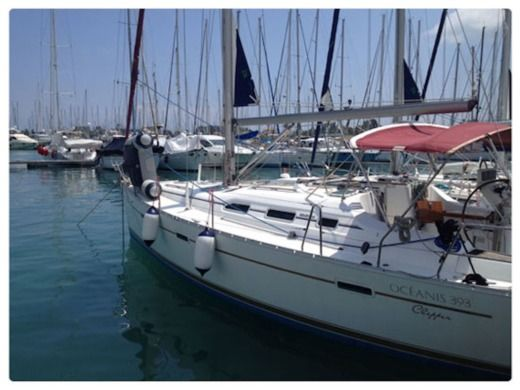 Beneteau Oceanis 393 in Corfu for hire