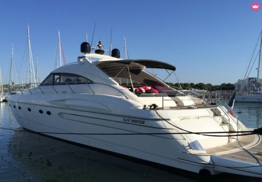 Princess V65 in Empuriabrava, Espagne for hire