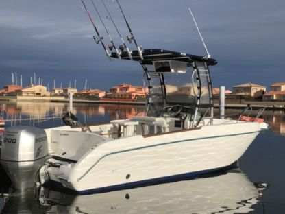 Rental Motorboat Fishing Bluefin2 Sortie Pêche Leucate