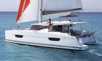 Charter Catamaran Fountaine Pajot Lucia 40 With Watermaker Langkawi