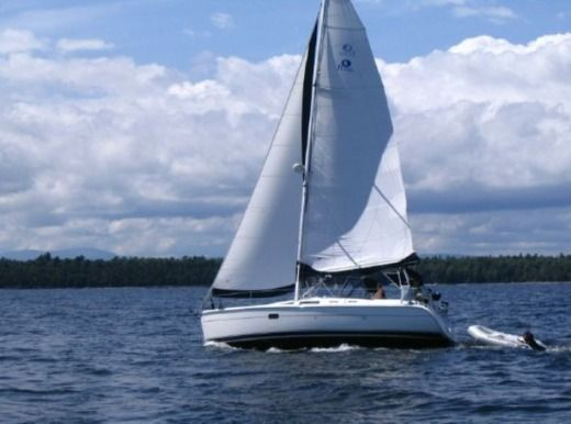Sailboat Hunter 356 for rental