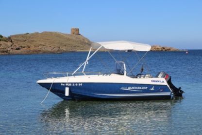 Charter Motorboat Quicksilver 520 Open Sirmione