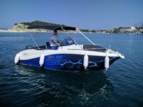 Okiboats Barracuda 545 in Makarska for hire