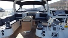 Sailboat Beneteau Oceanis 55