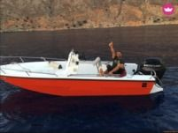 Motorboot Mare 5.5M 80Hp