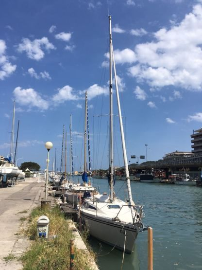 Rental Sailboat Napa 25 Pisticci