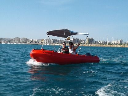 Charter Motorboat Whaly Whaly Boat 435 Torrevieja