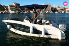 Okiboats Barracuda 545 in Vodice for rental