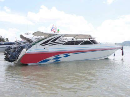 Charter Motorboat Custom Twin Engines 200Hp Phuket