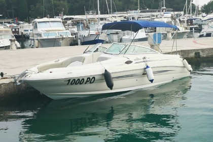 Hire Motorboat Sea Ray 240 Poreč