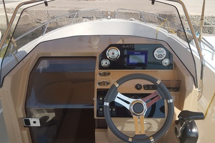 Hire Motorboat Atlantic Marine Open 670 Krk