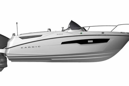 Rental Motorboat Karnic SL652 Split