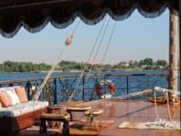 Sailboat Egypt Dahabiya Sailing Boat for hire