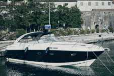 Charter motorboat in Kotor