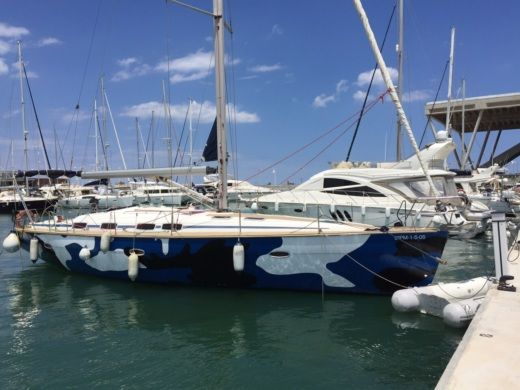 Bavaria 46 in Ibiza for rental