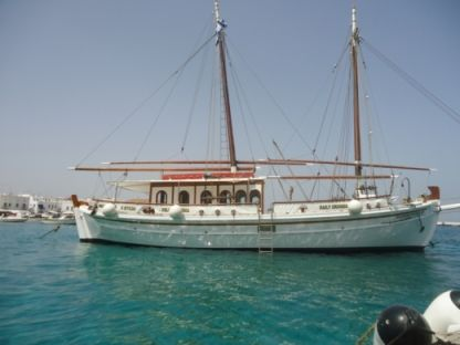 Charter Sailboat Gulet Dolphins Of Delos Mykonos