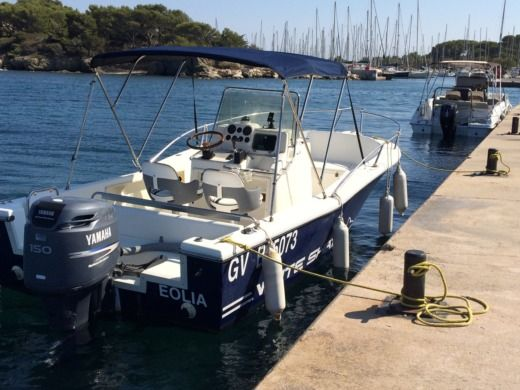 Motorboat Kelt Ws(White Shark) 205 for hire