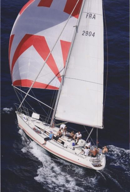Rental Sailboat Jeanneau Sun Fast 39 Marseille